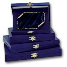 Kék műbőr doboz DP01 B