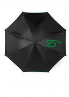 Albert Alapítvány logóval ellátott esernyő